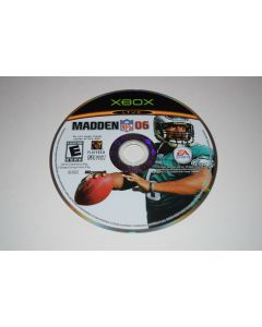 Madden NFL 06 Microsoft Xbox Video Game Disc Only