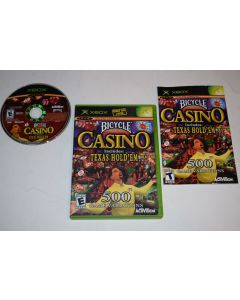 Bicycle Casino Microsoft Xbox Video Game Complete