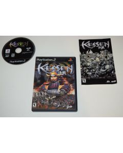 Kessen Playstation 2 PS2 Video Game Complete