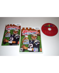 Backyard Football 09 Nintendo Wii Video Game Complete