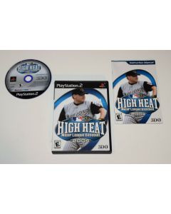 High Heat Baseball 2004 Playstation 2 PS2 Video Game Complete