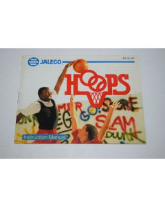 Hoops Nintendo NES Video Game Manual Only