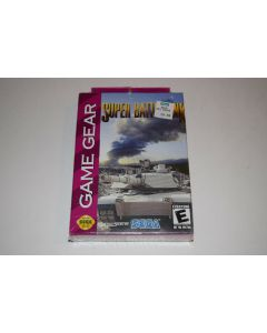 Super Battletank Sega Game Gear Video Game New Sealed