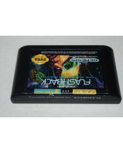 Flashback The Quest for Identity Sega Genesis Video Game Cart