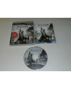 Assassin's Creed III Playstation 3 PS3 Video Game Complete