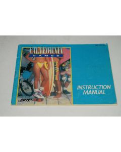 California Games Nintendo NES Video Game Manual Only