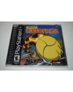 All-Star Slammin D-Ball Playstation PS1 Video Game New Sealed
