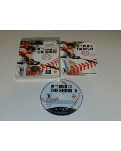 MLB 12 The Show Playstation 3 PS3 Video Game Complete