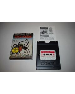 Spider Invasion Commodore Atari TI Computer Video Game Cassette Complete in Box