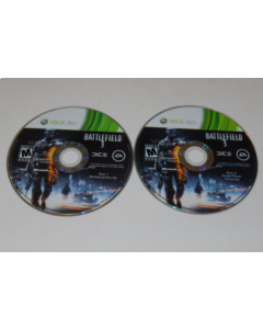 Battlefield 3 Microsoft Xbox 360 Video Game Discs Only