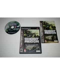 Ghost Recon Playstation 2 PS2 Video Game Complete