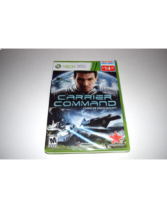 Carrier Command Gaea Mission Microsoft Xbox 360 Video Game New Sealed