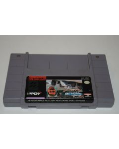 Newman Haas' Indy Car Featuring Nigel Mansell Super Nintendo SNES Game Cart