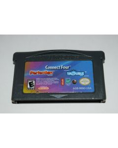 Connect Four / Trouble / Perfection Nintendo Game Boy Advance Video Game Cart