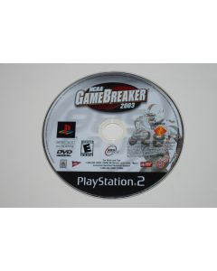NCAA GameBreaker 2003 Playstation 2 PS2 Video Game Disc Only