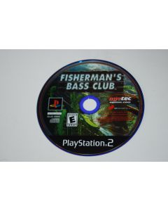 Fishermans Bass Club Playstation 2 PS2 Video Game Disc Only