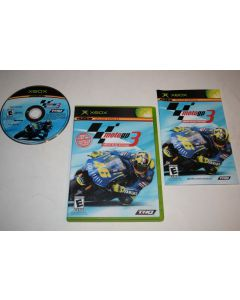 MotoGP Ultimate Racing Technology 3 Microsoft Xbox Video Game Complete