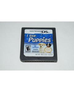 I Love Puppies Nintendo DS Video Game Cart Only