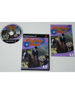 Riding Star Playstation 2 PS2 Video Game Complete