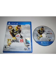 NHL 15 Sony Playstation 4 PS4 Video Game Complete