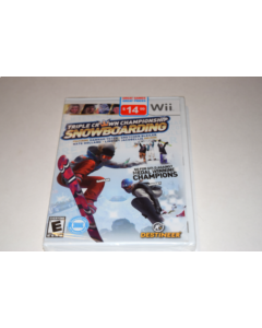 Triple Crown Snowboarding Nintendo Wii Video Game New Sealed