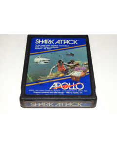 Shark Attack Late Version Atari 2600 Video Game Cart