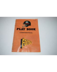 Super Play Action Football Super Nintendo SNES Video Game Play Book Only