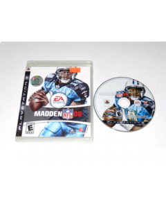 Madden 2008 Playstation 3 PS3 Game Disc w/ Case