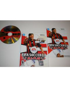 FIFA 09 All-Play Nintendo Wii Video Game Complete