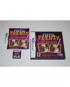 Foto Frenzy Nintendo DS Video Game Complete