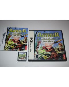 Arthur and the Invisibles Nintendo DS Video Game Complete