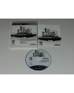 DJ Hero 2 Playstation 3 PS3 Video Game Complete