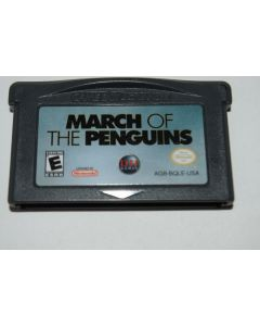 March of the Penguins Nintendo Game Boy Advance Video Game Cart