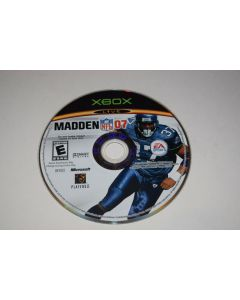 Madden NFL 07 Microsoft Xbox Video Game Disc Only