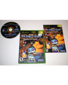 ToeJam & Earl III Mission to Earth Microsoft Xbox Video Game Complete