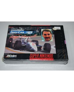 Newman Haas' Indy Car Featuring Nigel Mansell Super Nintendo SNES New in Box