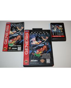Batman Forever Sega Genesis Video Game Complete in Box