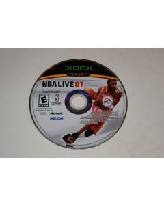 NBA Live 07 Microsoft Xbox Video Game Disc Only