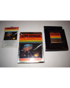 Star Voyager Atari 2600 Video Game Complete in Box