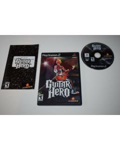 Guitar Hero Playstation 2 PS2 Video Game Complete