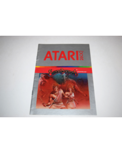 Swordquest Earthworld Atari 2600 Video Game Manual Only