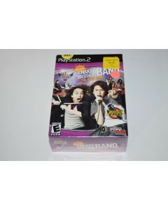 Rock University Naked Brothers Band Microphone Bundle Playstation 2 PS2 New Box