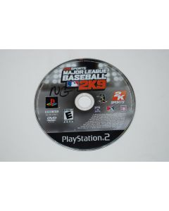 Major League Baseball 2K9 Playstation 2 PS2 Video Game Disc Only
