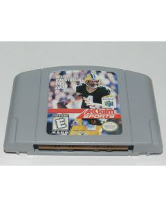 NFL Quarterback Club 2000 Nintendo 64 N64 Video Game Cart
