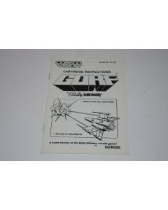 Gorf ColecoVision Video Game Manual Only