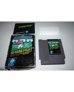 10-Yard Fight 3 Screw Nintendo NES Video Game Complete in Box