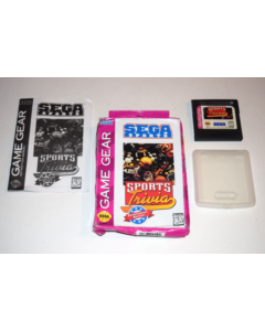 Sports Trivia Championship Edition Sega Game Gear Video Game Complete in Box