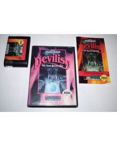 Devilish The Next Possession Sega Genesis Video Game Complete in Box