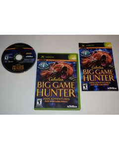Cabela's Big Game Hunter 2005 Adventures Microsoft Xbox Video Game Complete