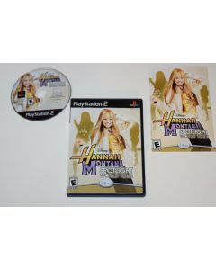Hannah Montana Spotlight World Tour Playstation 2 PS2 Video Game Complete